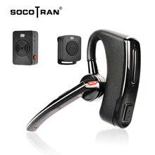 Wireless Walkie Talkie Bluetooth ptt Headset Earpiece For KENWOOD microphone headset Adapter