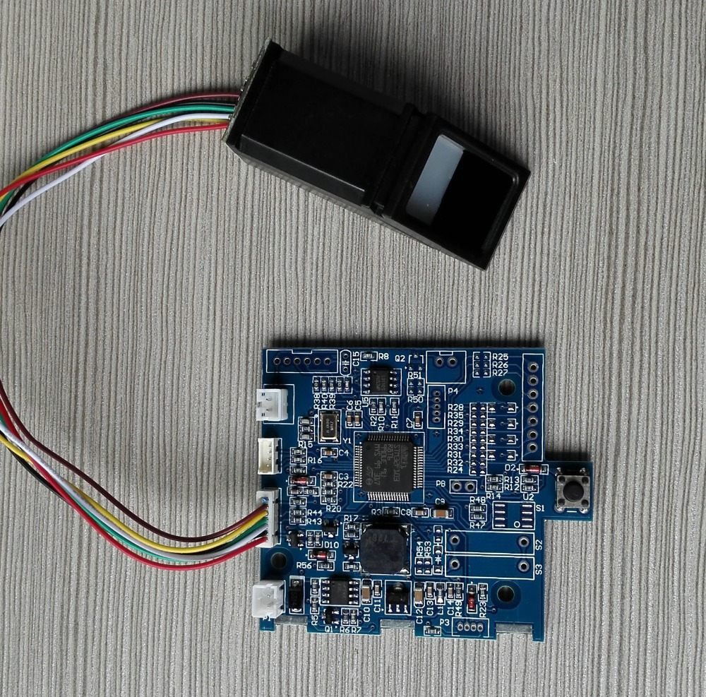 K201 fingerprint control board  and R308 Biometric module