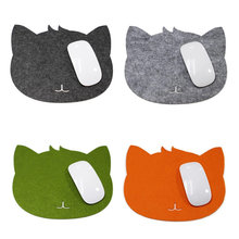 1PC Mouse Pad Hot Cat Shape Picture Anti-Slip Laptop PC Mice Pad Mat Mousepad for Computer Game Optical Mouse Tools Accessories(China)