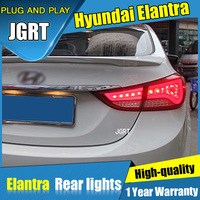 JGRT Car Styling For Hyundai Elantra Tail Lights 2011 2015 For Elantra LED Tail Lamp Turn