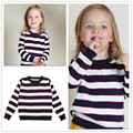2016 New Hot Fashion 100% Cotton Children Clothes Family Clothes Spring Children Sweater Striped Parent-Child Casual Clothes