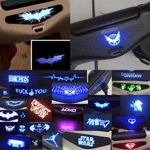30 unids/lote colorido para PS4, barra de luz LED etiqueta engomada de la piel de la para PlayStation 4 PS4 controlador