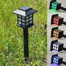 Светодиодный светильник на солнечной батарее, уличный садовый светильник, ландшафтный светодиодный светильник