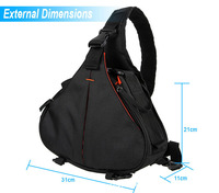 China supplier travel hiking triangle backpack, branded sling bag Newest 2016 triangle camera bag CD50