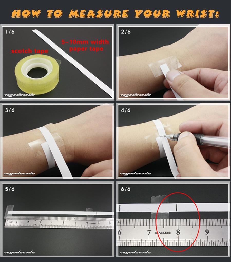 1--Measure Wrist size