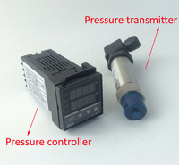 0 0.1Mpa , 4 20mA digital pressure controller with pressure sensor transmitter digital pressure switch pressure gauge