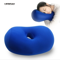 UFRIDAY New Lazy Comfortable Leg Knee Body Neck Pillow Cover Flight Nap Cushion Male Home Officer Student Travel Sleeping Pillow