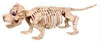 New Skeleton Dog Puppy Dachshund Sausagedog Bones for Horror Halloween Party Bar Home Decor Decoration Accessories Decoration