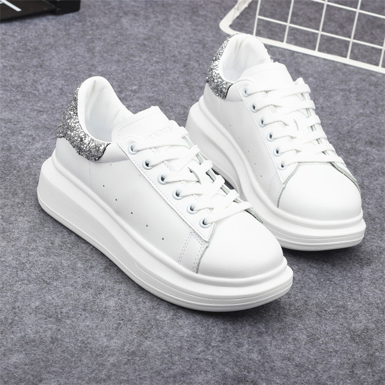 New Fashion Vulcanize Shoes Trainers Women Sneakers Casual Shoes Basket Femme PU Leather Tenis Feminino Zapatos Mujer Plataforma 67