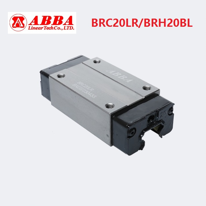 10pcs Original Taiwan ABBA BRC20LR/BRH20BL Linear narrow Block Linear Rail Guide Bearing for CNC Router Laser Machine parts10pcs Original Taiwan ABBA BRC20LR/BRH20BL Linear narrow Block Linear Rail Guide Bearing for CNC Router Laser Machine parts