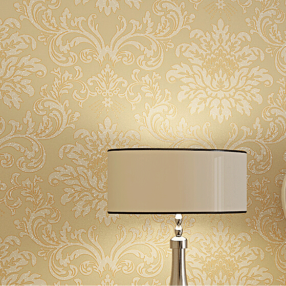 beibehang Europe non-woven Glitter Modern damask wallpaper roll classic papel de parede 3d wall papers for living room bedroom classic non woven metallic damask wallpaper roll blue background wall wallpaper for living room bedroom wallpaper w045b papeles