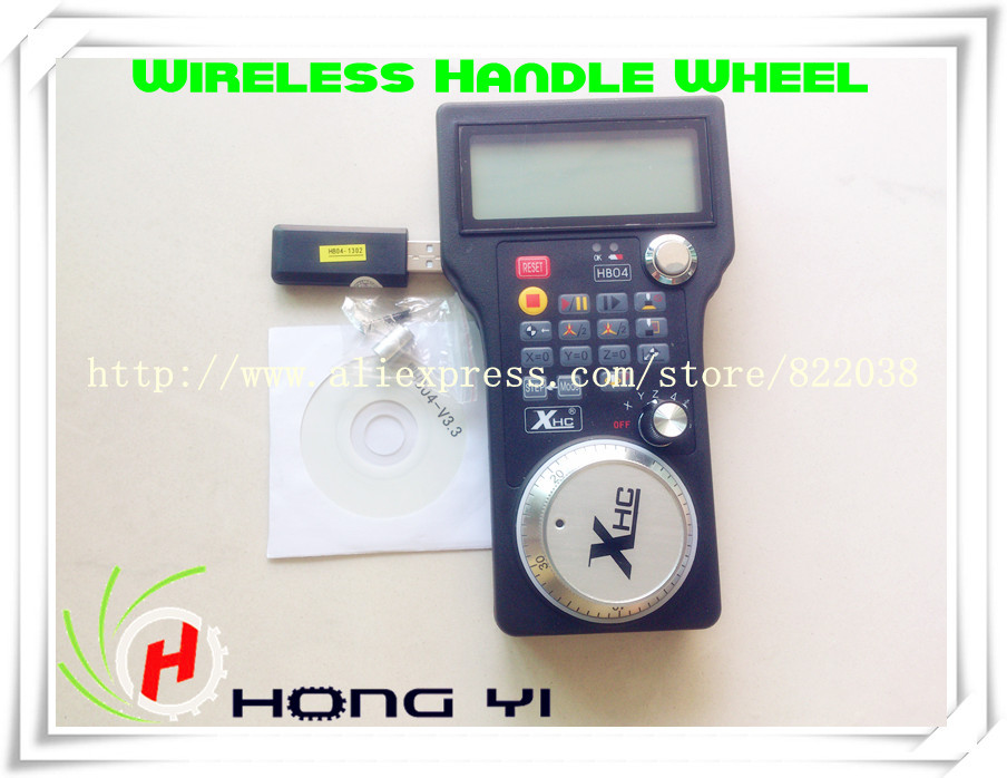 ФОТО 2.4G 3 Axis USB Wireless Handle Wheel For CNC Mach3  3 / 4 axis Engraving Router  Router LCD
