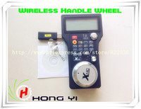 Free Shipping 2 4G 3 Axis USB Wireless Handle Wheel For CNC Mach3 3 4 Axis