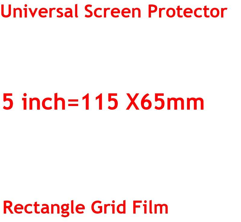3 sztuk/partia jasne lub matowe uniwersalny ekrany ochronne 5/6/7/8/9/10/11 /12 Cal folie ochronne dla telefonów komórkowych tablet z funkcją telefonu samochód GPS LCD 11