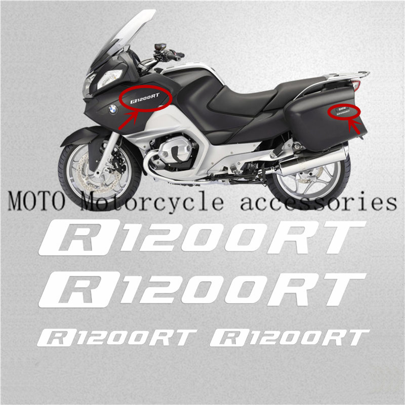 Motorcycle LOGO REFLECTIVE Stickers FAIRING Decals for BMW R1200RT R1200 RT