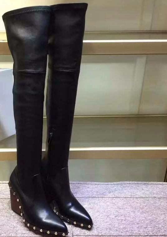 Popular Studded Thigh High Boots-Buy Cheap Studded Thigh High