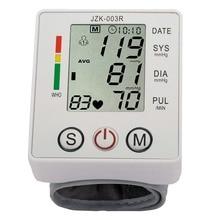 Wrist Blood Pressure Monitor Digital LCD Screen Heart Pulse Monitor Device Home Health Care Measuring Pulse