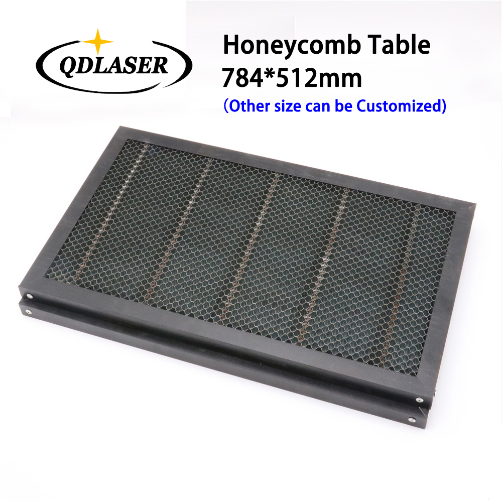 все цены на 784*512mm Honeycomb Working Table for CO2 Laser Engraver Cutting Machine Platform Laser Parts