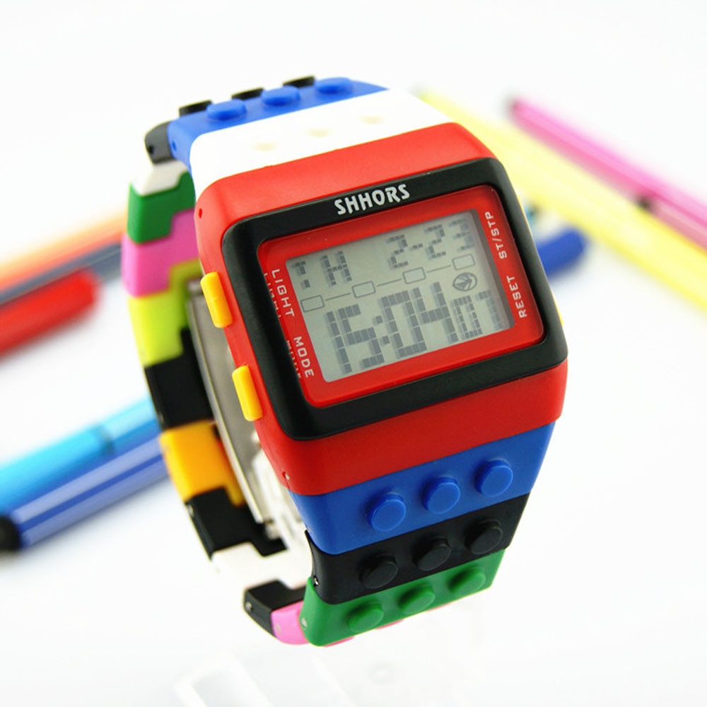 Hot Special <font><b>Unisex</b></font> Colorful Led Digital Wrist Watch Relogio Feminino Masculino <font><b>Erkek</b></font> <font><b>Kol</b></font> <font><b>Saati</b></font> Mens Women Watches Skmei Saat 618 image
