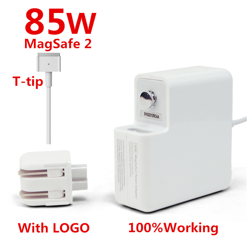 High Quality Original 85W MagSafe 2 font b Laptop b font Power Adapter Chargers WITH LOGO