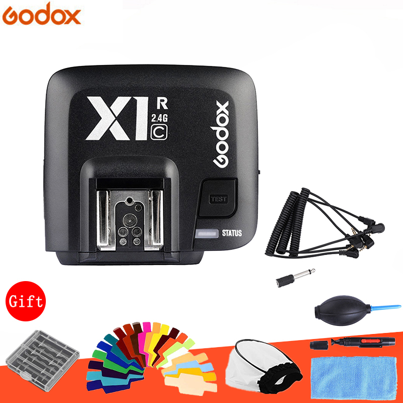 Godox X1C X1R C TTL 2 4G Wireless Receiver for Canon Series Cameras 1000D 600D 700D