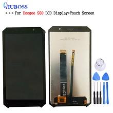Для 5,2 дюймов Doogee S60 S60 Lite ЖК-дисплей Дисплей + Сенсорный экран 100% тестирование Экран планшета Ассамблеи Замена