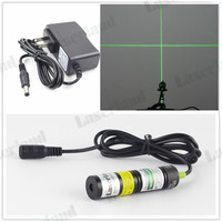 Green 532nm 10mW Cross Laser Diode Module Locator Adapter For Cutting Machine