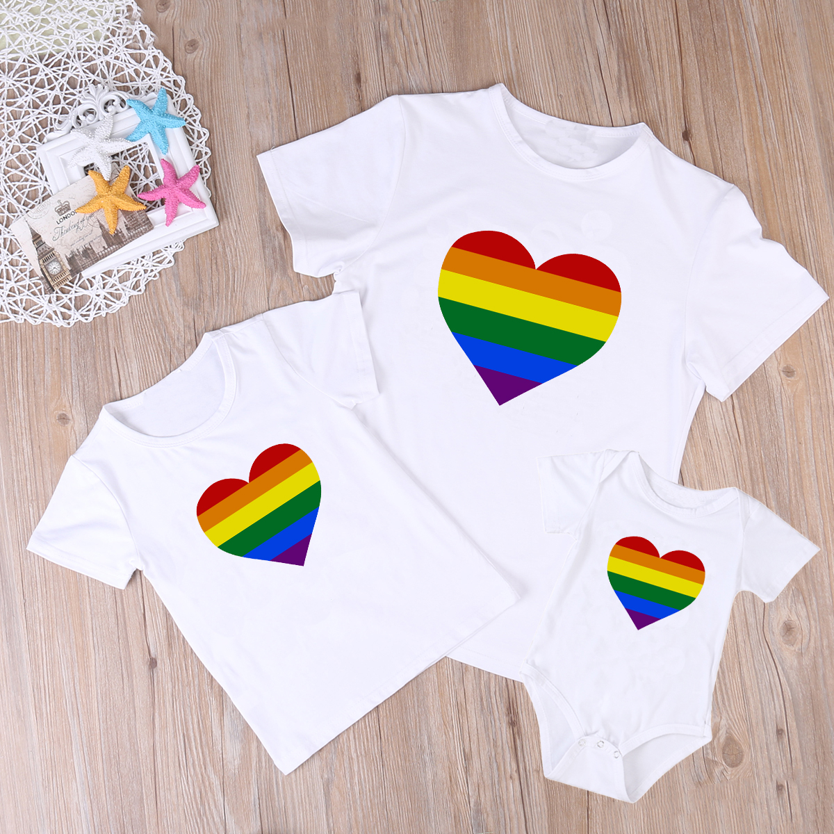 Matching Family Look Clothing Outfits Father Son Mother Daughter T Shirt Dad Mom And Me Matching Cotton Baby Romper Tops