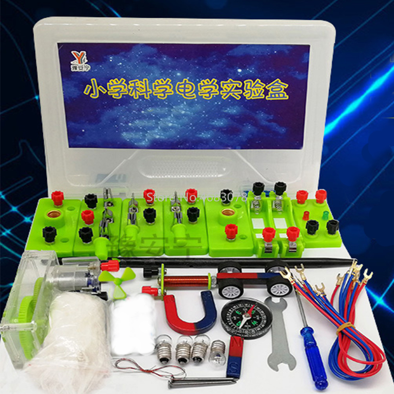 Electrical Series-Parallel Small Bulb Experiment Set Teaching Tool For Electromagnetic Circuit Experiment Box