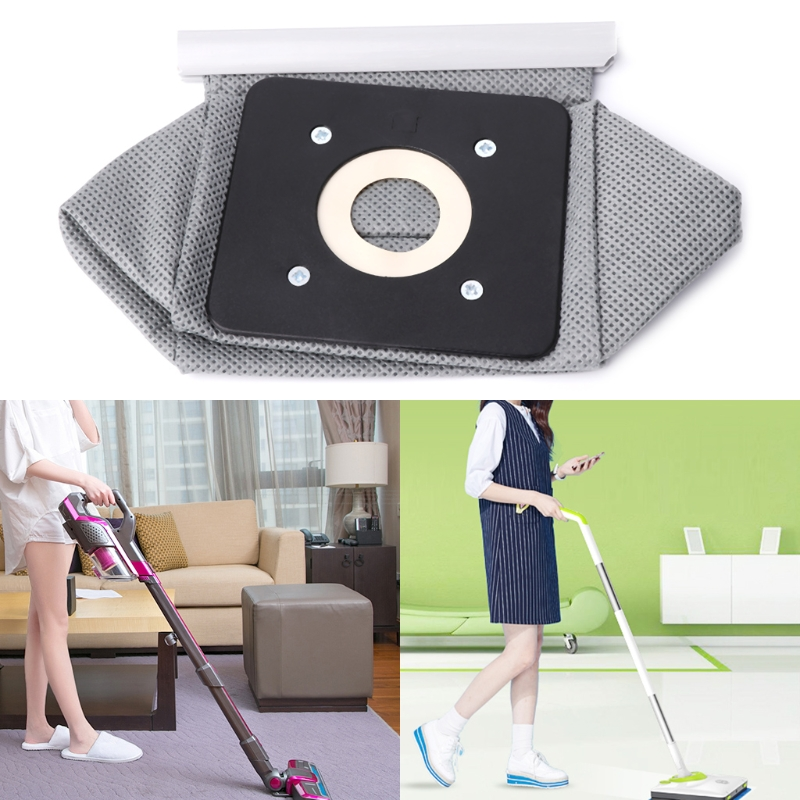 1 PC Non Woven Cloth Vacuum Cleaner Bag Reusable Dust Bags Replacement 11x10cm brand new practical vacuum cleaner bag 11x10cm non woven bags hepa filter dust bags cleaner bags for cleaner clean accessories