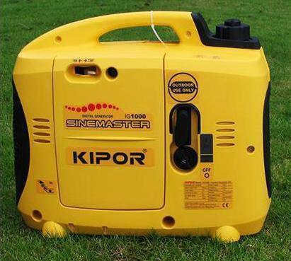Быстрая доставка инвертера генератор IG1000 Kipor 0.9kVA 1.0kVA Silent бензин генератор Открытый поле дикий дует в автомобиль