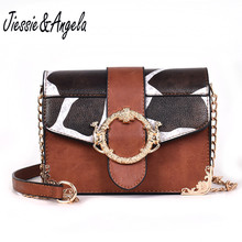 Jiessie & Angela Famous Brand Mini Crossbody Bags for Women Messenger Bags Small Female Shoulder Handbags Women Bag zooler bags handbags women famous brand crossbody bag small superior cowhide leather messenger bag for lady mini bag 3821