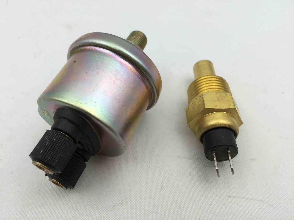 Free Shipping VDO Water temperature oil pressure sensor Thread: 3/8  1/2 Generator accessories Sensor дрель ударная bosch gsb 16 re professional [060114e500]