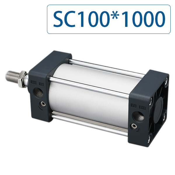SC100x1000 Series Single Rod Double Acting Pneumatic Bore 100 Strock 1000 Standard air pneumatic cylinder SC100*1000SC100x1000 Series Single Rod Double Acting Pneumatic Bore 100 Strock 1000 Standard air pneumatic cylinder SC100*1000