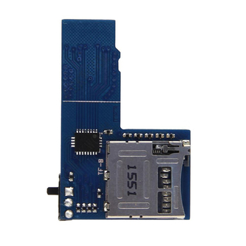 New Hot Dual TF Card Adapter Memory Board Dual System Micro SD Card Adapter for Raspberry π3