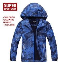 Menino crianças softshell à prova dsoftágua casaco de chuva crianças ao ar livre caminhadas roupas blusão da criança escudo macio velo jaquetas outerwear