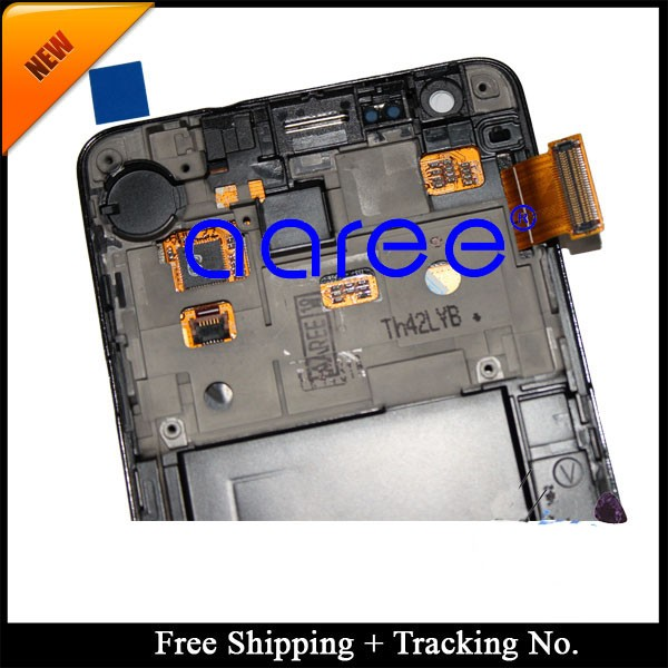 For Samsung Galaxy S2 i9100 LCD Screen Assembly With Frame Detials