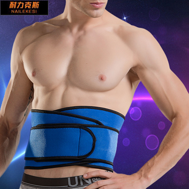 Men Waist Support Belt Women Lumbar Brace Breathable Protection Back Absorb Sweat Fitness  Protective Gear  Lumbar Band