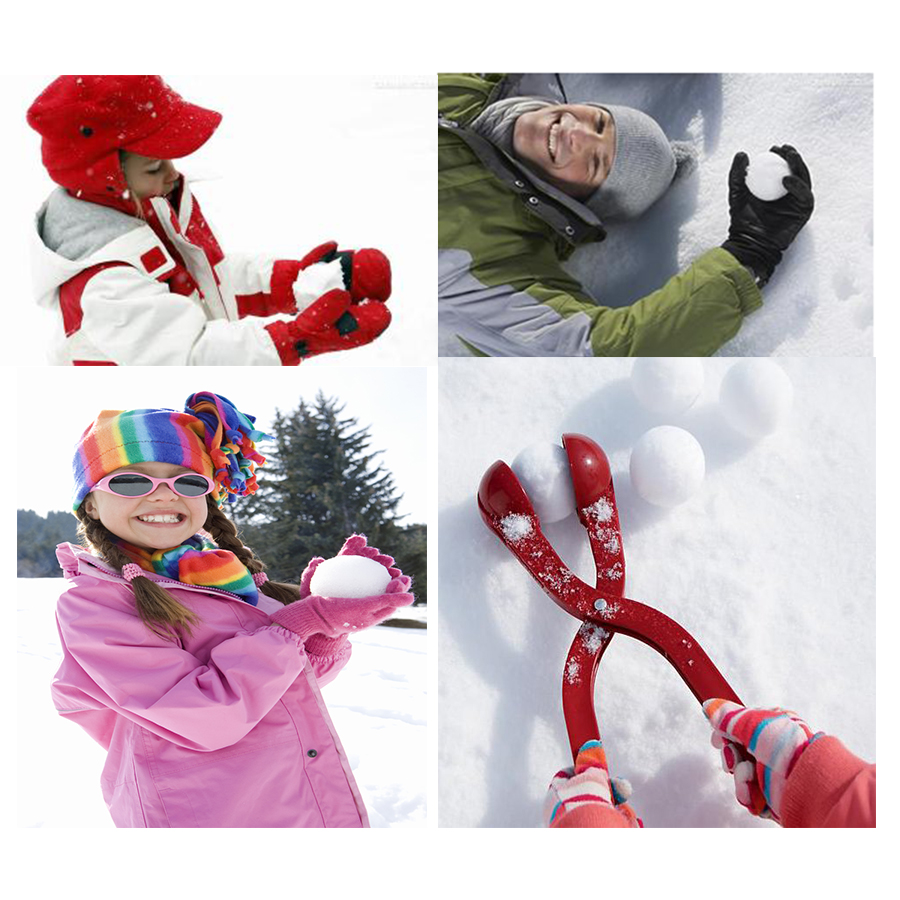 Toys For Winter : Piece lot winter snow ball maker sand mold tool kids toy
