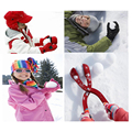 1 Piece/lot  Winter Snow Ball Maker Sand Mold Tool Kids Toy Lightweight Compact Snowball  Outdoor Sports Child Toy Random Colors