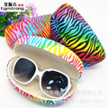 Free Shipping 2017 New Fashion Sunglasses Case Goggles makeup Storage Box Large glasses box compressive tin box Shell case 066