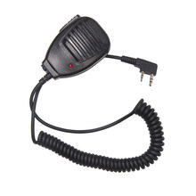Radio Handheld Microphone Speaker MIC for Walkie Talkie UV-5R Portable Two Way Radio Pofung BaofengUV-5R BF-888S Accessories(China)