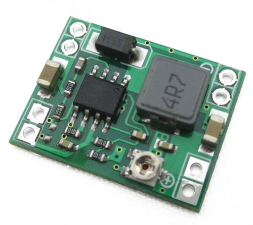 1pcs Super mini 3A DC-DC Converter Step Down Power Supply Module 3V 5V 16V new ultra small size dc dc step down power supply module 3a output 12v 5v to 3 3 v buck converter for arduino