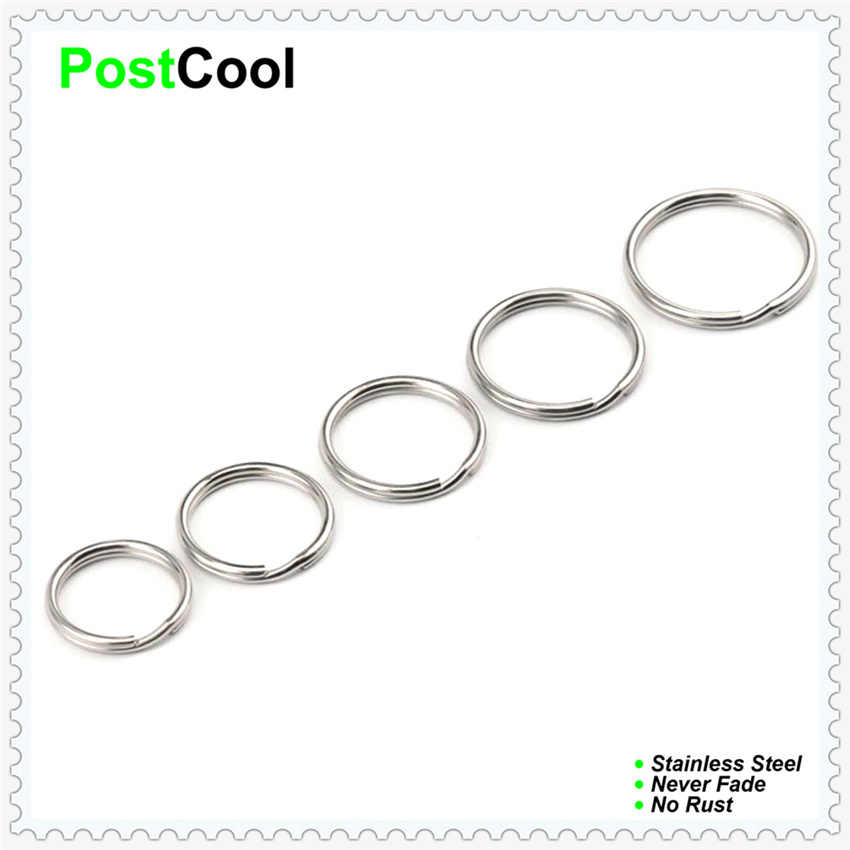 1x10mm1x12mm1x13mm1x15mm1x18mm1x20mm 6 options of small connectors/key holders/key rings/jumps rings/split rings factory price