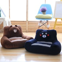 Creative cartoon children's small toy stuffed toys cushion pillow bear dog cat toys