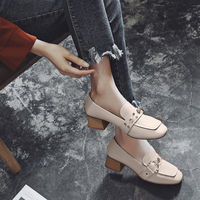 MYCORON Genuine Luxury Brand Leather Spring Autumn Flats Woman Fashion Loafers Female Vintage Flat Shoes Woman Sapatos Mulher
