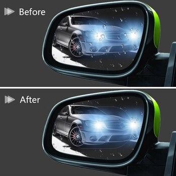 2pcs Anti-Fog Film Car Rearview Mirror Protective Film Anti Fog Rainproof Rear View Mirror Protective 135*95mm car accessries