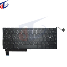 "Original perfect A1286 Arabic Keyboard For Apple Macbook Pro 15"" Arabic AR Keyboard Replacement without backlight 2008-2012year"
