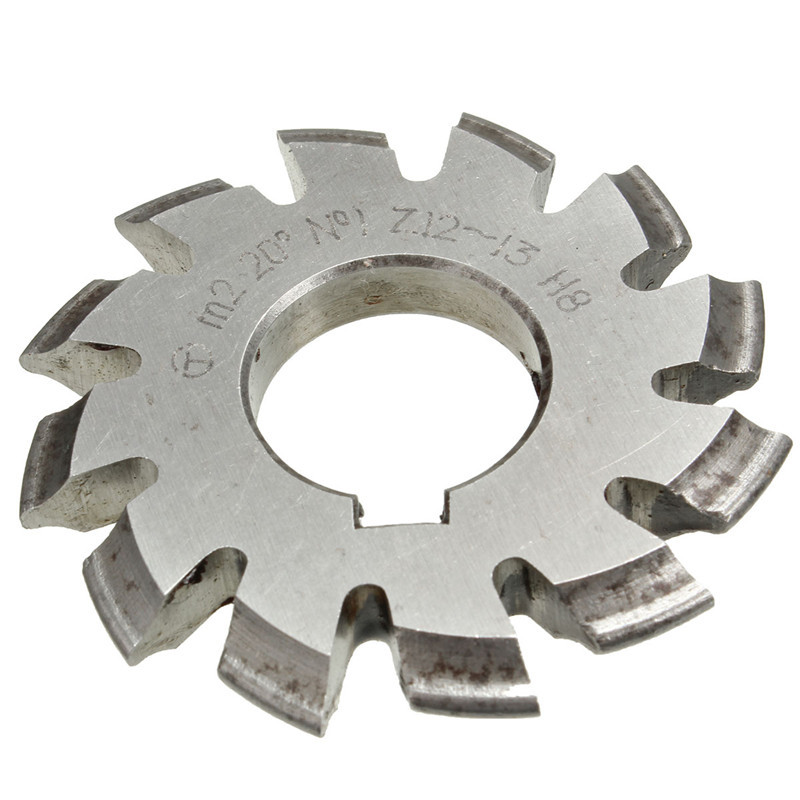 Wholesale Price Diameter 22mm M2 20 Degree #1 Involute Module Gear Cutters HSS High Speed Steel NEW Machine Tools Accessories подгузники