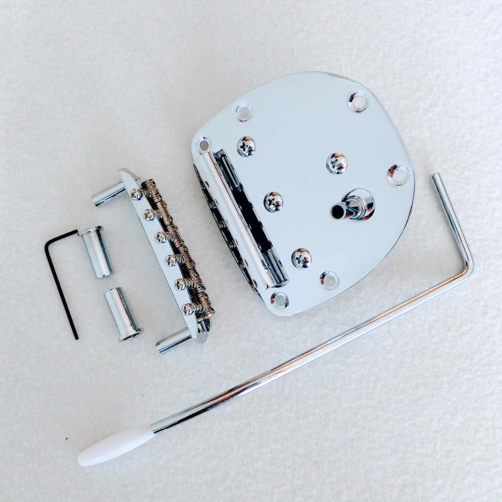 Free Shipping Chrome guitar tremolo for Mustang and jazzmaster guitar repaclement guitar bridge